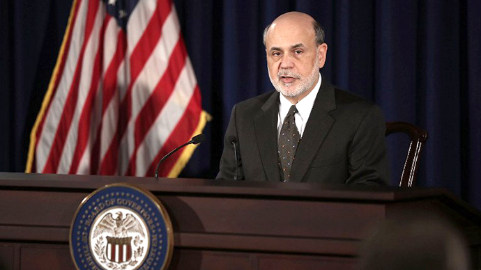 Federal Reserve Board Chairman Ben Bernanke speaks during a news conference June 19, 2013 at the Federal Reserve in Washington, DC.  (AFP Photo / Alex Wong)