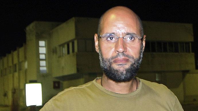 Saif al-Islam Gaddafi, son of Libyan leader Muammar Gaddafi (AFP Photo / Imed Lamloum)