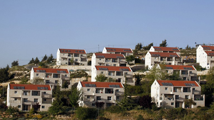 The Beit El Jewish settlement near the Palestinian West Bank city of Ramallah (AFP Photo / Gali Tibbon)