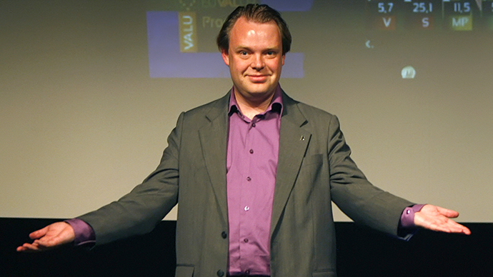 Pirate Party leader Rick Falkvinge (Reuters / Bob Strong)