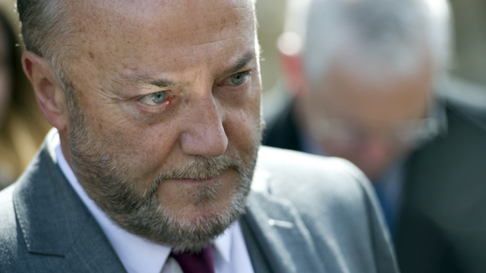 British member of parliament George Galloway (AFP Photo / Miguel Medina)