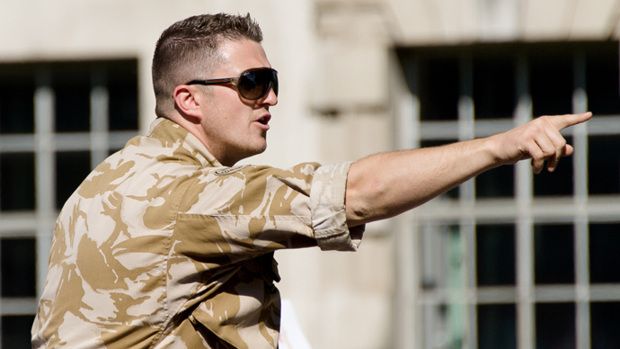 EDL leader Tommy Robinson (AFP Photo / Leon Neal)