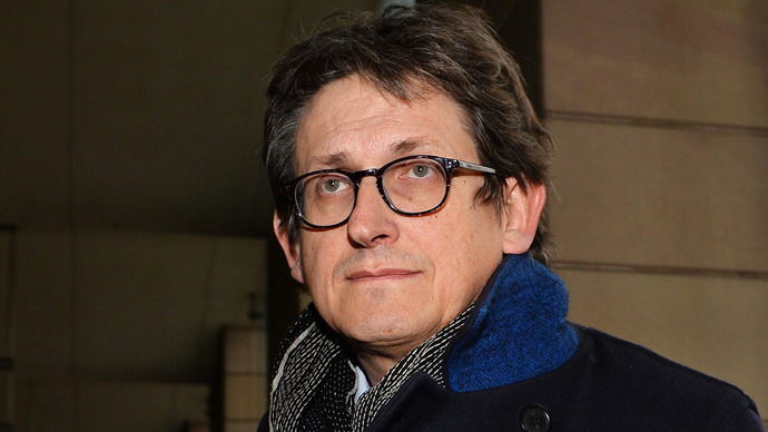 The editor of Britain's Guardian newspaper, Alan Rusbridger, arrives at Portcullis House in London on December 3, 2013, to appear before lawmakers to defend his newspaper's publication of intelligence documents leaked by former US intelligence analyst Edward Snowden (AFP Photo / Ben Stansall)