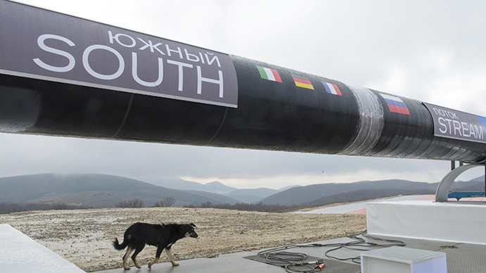 South Stream pipeline. (RIA Novosti / Sergey Guneev)