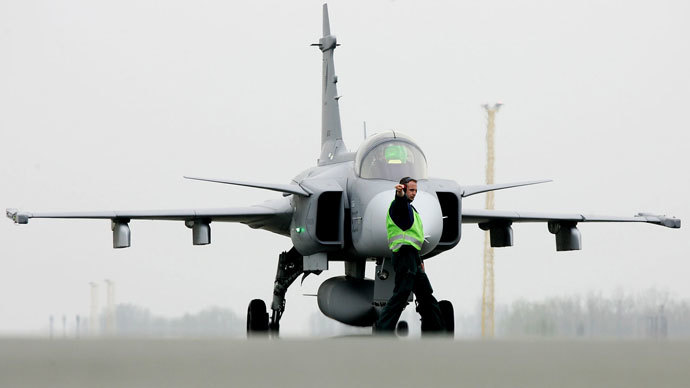 SAAB JAS-39 Gripen.(Reuters / Peter Josek)