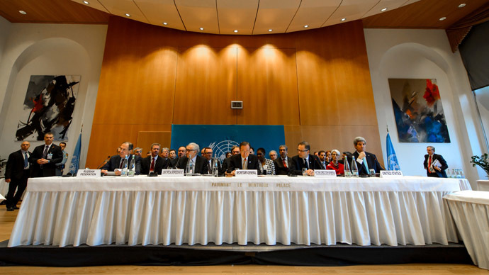 Geneva II Conference on Syria
