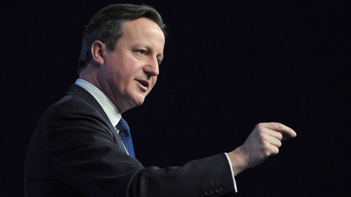 British Prime Minister David Cameron (AFP Photo / Eric Piermont)