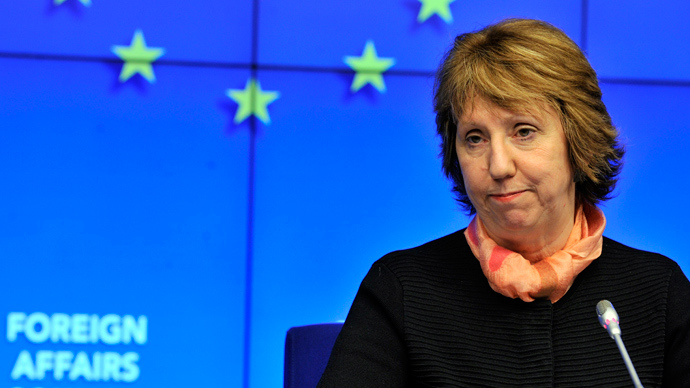High Representative of the European Union for Foreign Affairs and Security Policy Catherine Ashton (AFP Photo / Georges Gobet)
