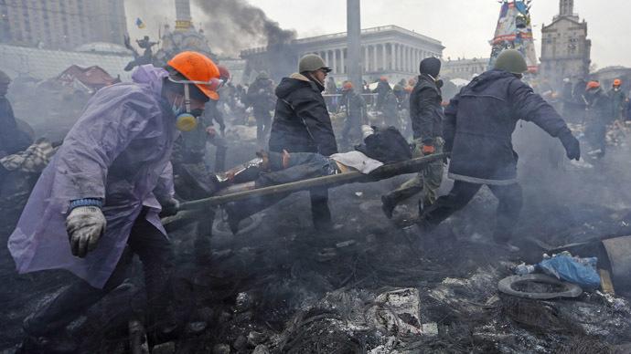 Kiev February 20, 2014.  (Reuters/Yannis Behrakis)
