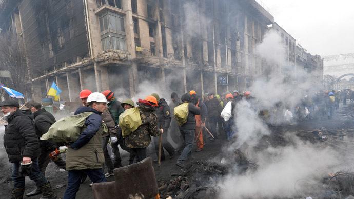 Kiev February 20, 2014 (AFP Photo)