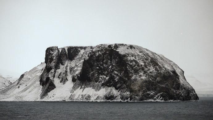 Franz Josef Land in the Arctic Ocean. (RIA Novosti / Vladimir Astapkovich)