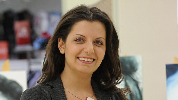 Chief editor of Russia Today TV channel Margarita Simonyan (RIA Novosti / Sergey Pyatakov)