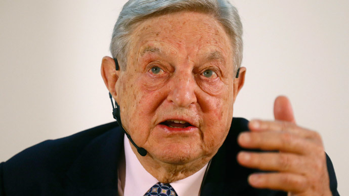 George Soros (Reuters / Ralph Orlowski)