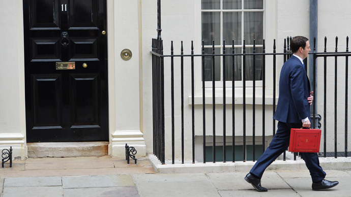 British Chancellor of the Exchequer George Osborne.(AFP Photo / Leon Neal)