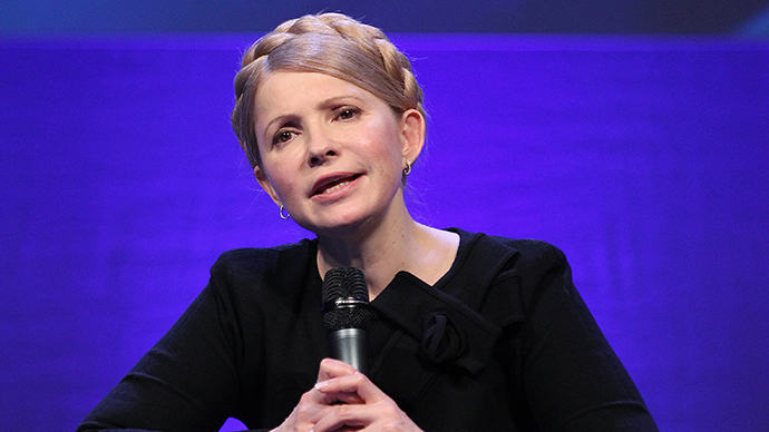 Yulia Tymoshenko (AFP Photo / Peter Muhly)