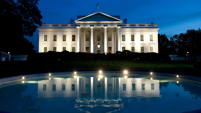 The White House is seen in Washington, DC (AFP Photo / Saul Loeb)