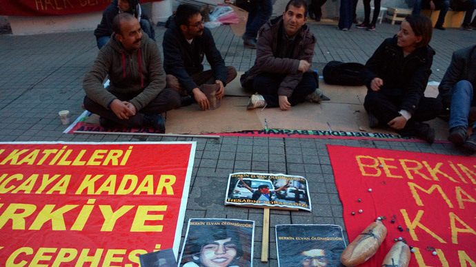 15-year-old Berkin Elvan went out to get some bread and got caught in a demonstration crackdown. He later died in hospital of injuries sustained during the clashes. (Photo by Nadezhda Kevorkova)