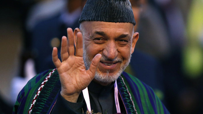 Afghanistan President Hamid Karzai (Reuters)