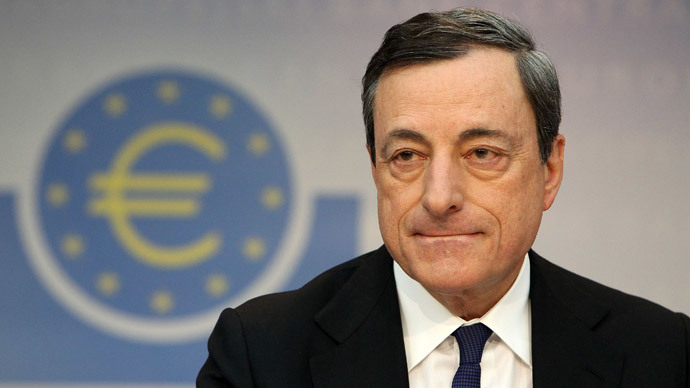 Mario Draghi, President of the European Central Bank.(AFP Photo / DanieL Roland )