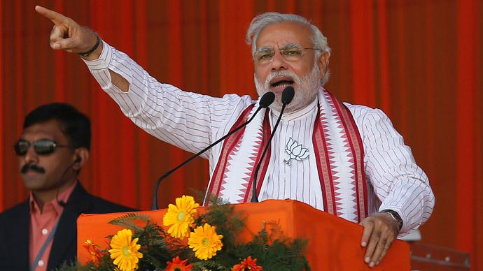 Hindu nationalist Narendra Modi (Reuters / Adnan Abidi)