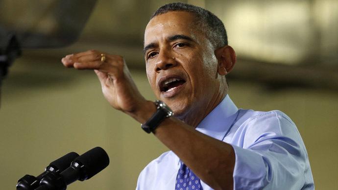 U.S. President Barack Obama (Reuters/Larry Downing)