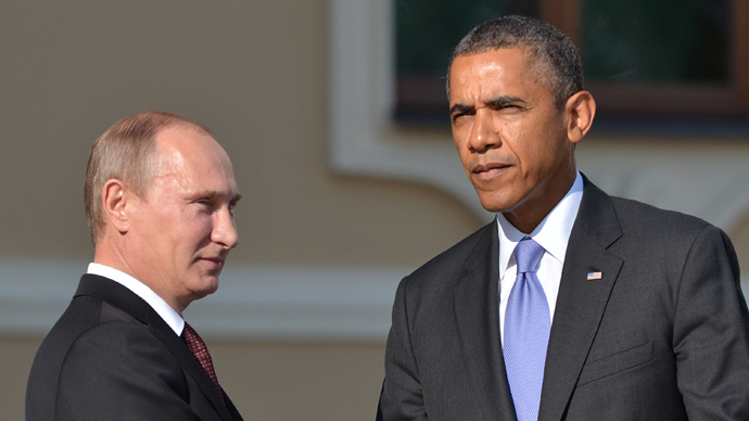 Russia's President Vladimir Putin (L) and US President Barack Obama (AFP Photo)