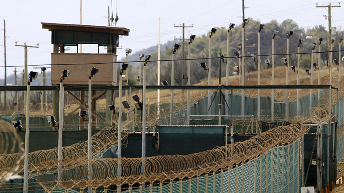 The exterior of Camp Delta is seen at the U.S. Naval Base at Guantanamo Bay (Reuters)