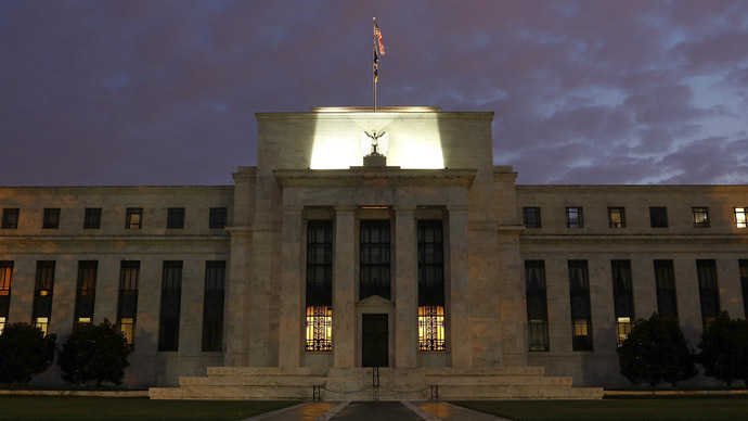 A general view of the U.S. Federal Reserve building in Washington (Reuters/Jonathan Ernst)