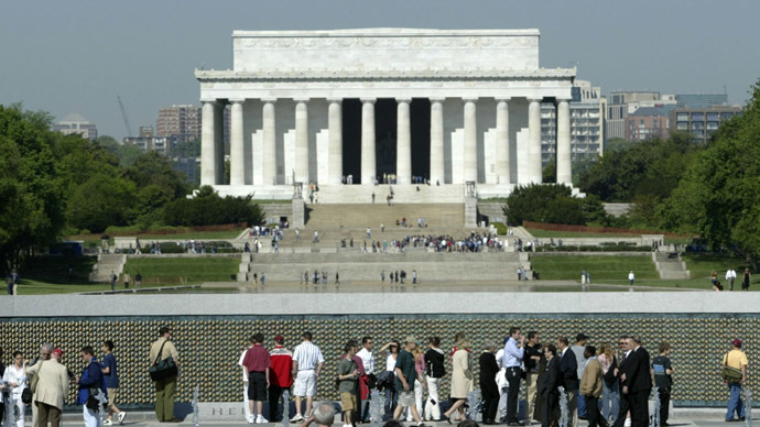 The Lincoln Memorial on the National Mall in Washington (Reuters/Gary Hershorn GMH)