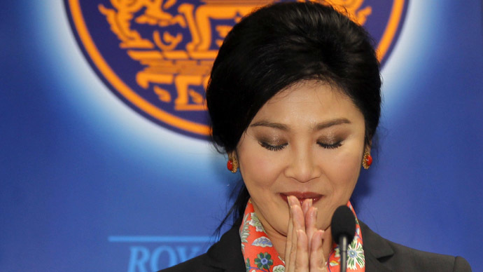 Thailand's Prime Minister Yingluck Shinawatra (Reuters/Chaiwat Subprasom)