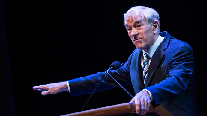 Ron Paul.(AFP Photo / Brendan Smialowski )