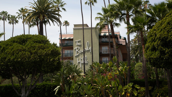 The Beverly Hills Hotel (Reuters / Jonathan Alcorn)