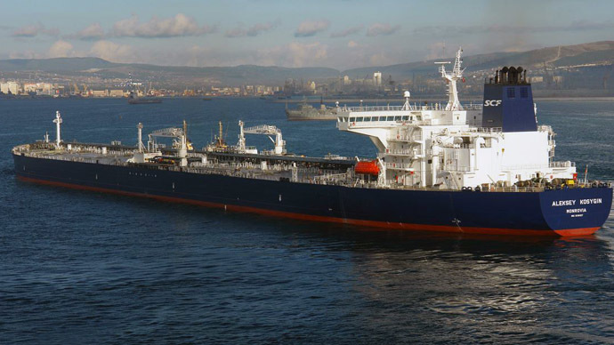 Tanker Aleksey Kosygin (Photo from www.marinetraffic.com)