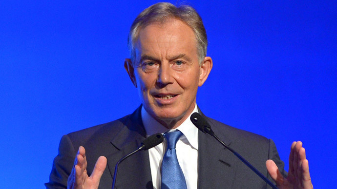 Tony Blair (AFP Photo / Pornchai Kittiwongsakul)