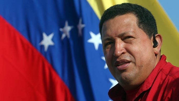 Hugo Chavez (Reuters/Miraflores Palace)