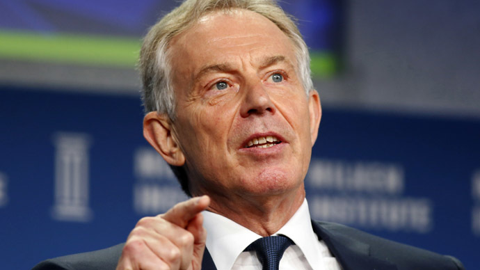 Former British Prime Minister Tony Blair (Reuters/Lucy Nicholson)