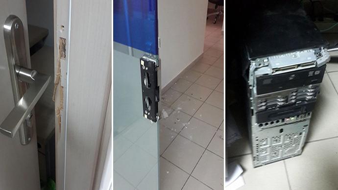 RT office in Ramallah raided by IDF