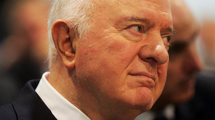 Former Soviet foreign minister and Georgian president Eduard Shevardnadze (AFP Photo / John Mcdougall)
