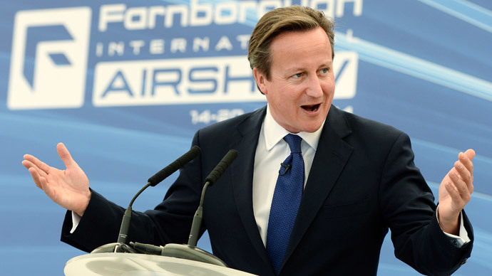 Britain's Prime Minister David Cameron.(Reuters /Andy Rain)