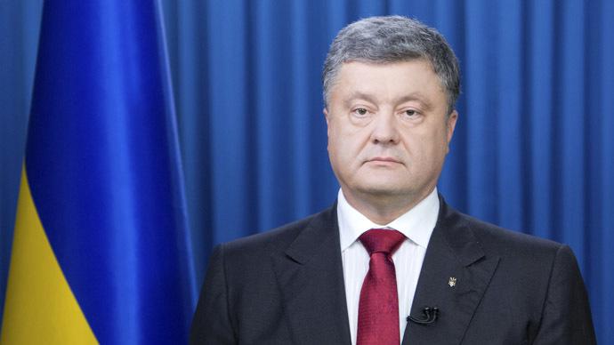 Ukraine's President Petro Poroshenko (Reuters/Mykhailo Markiv)