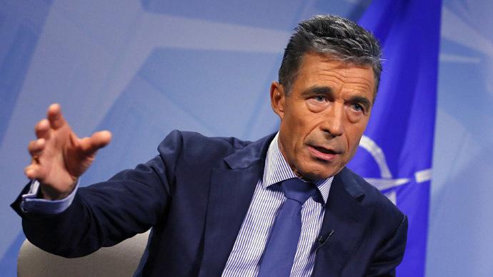 NATO Secretary General Anders Fogh Rasmussen (Reuters/Yves Herman)