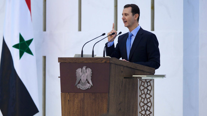 Syria's President Bashar al-Assad (Reuters / SANA / Handout via Reuters)