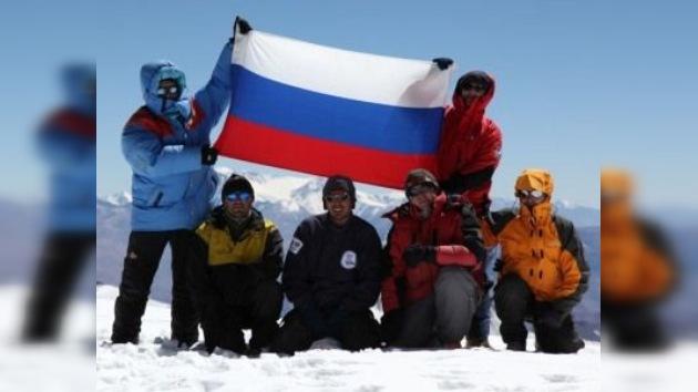 Un grupo de siberianos escaló con éxito el Aconcagua