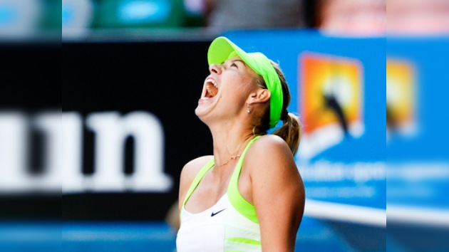 Sharápova se medirá a Azarenka en la final del Abierto de Australia