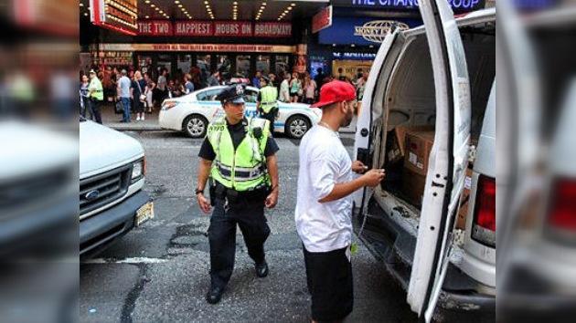 El miedo hace evacuar a centenares de estadounidenses en el aniversario del 11-S