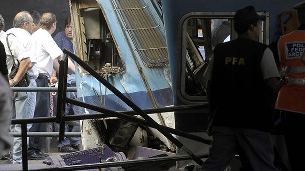 Argentina ordena arrestar a los directivos de la concesionaria del tren accidentado en febrero