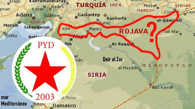 Los kurdos sirios crean su propio gobierno interino