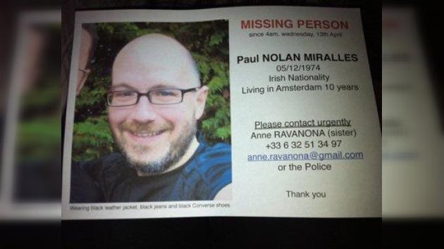 Continúa la búsqueda del fotógrafo desaparecido Paul Nolan Miralles