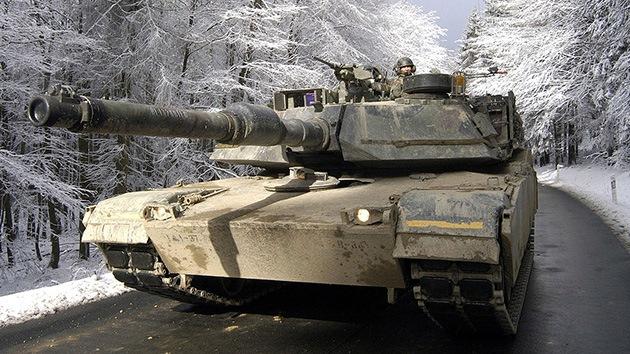 EE.UU. enviará tanques a Europa para reforzar su presencia contra Rusia