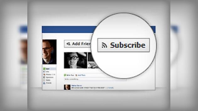 Facebook permitirá 'seguir' a desconocidos